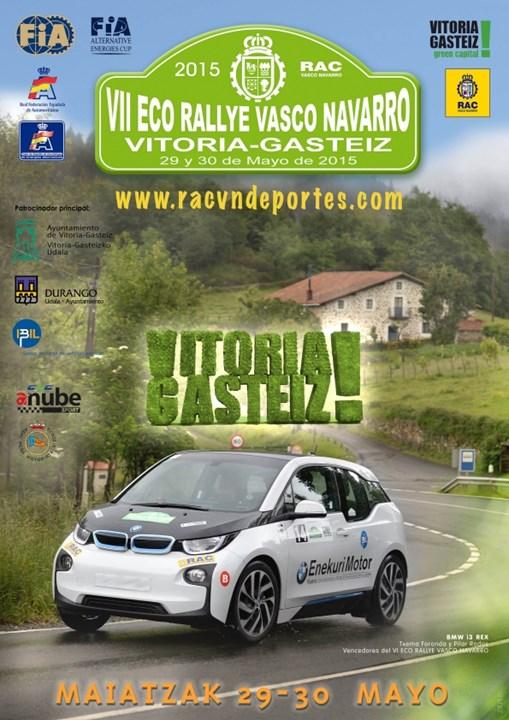 eco rallye vasco navarro 2015