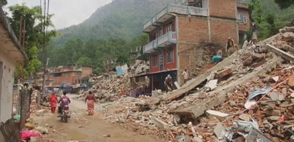 Imagen del terremoto de Nepal. Foto: EiTB