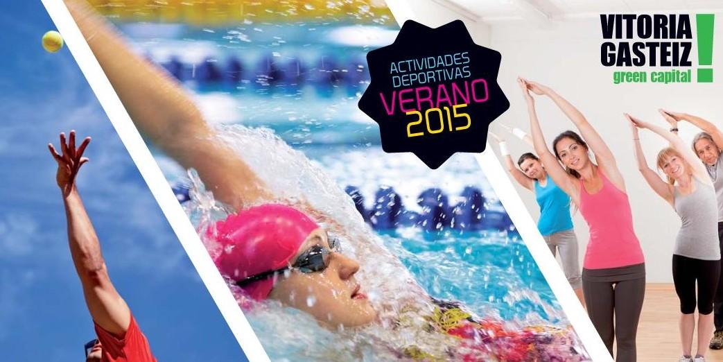 Actividades deportivas vernao 2015. Foto: vitoria-gasteiz.org
