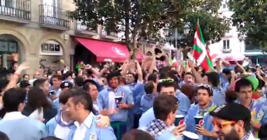 Celebración del día de Santiago en Gasteiz.