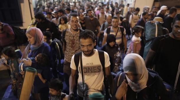 Refugiados. Fotos: EFE