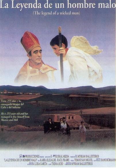 Cartel de la película 'Leyenda de un hombre malo'