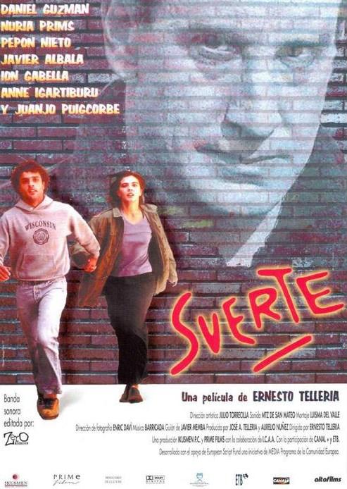 Cartel de la película 'Suerte'