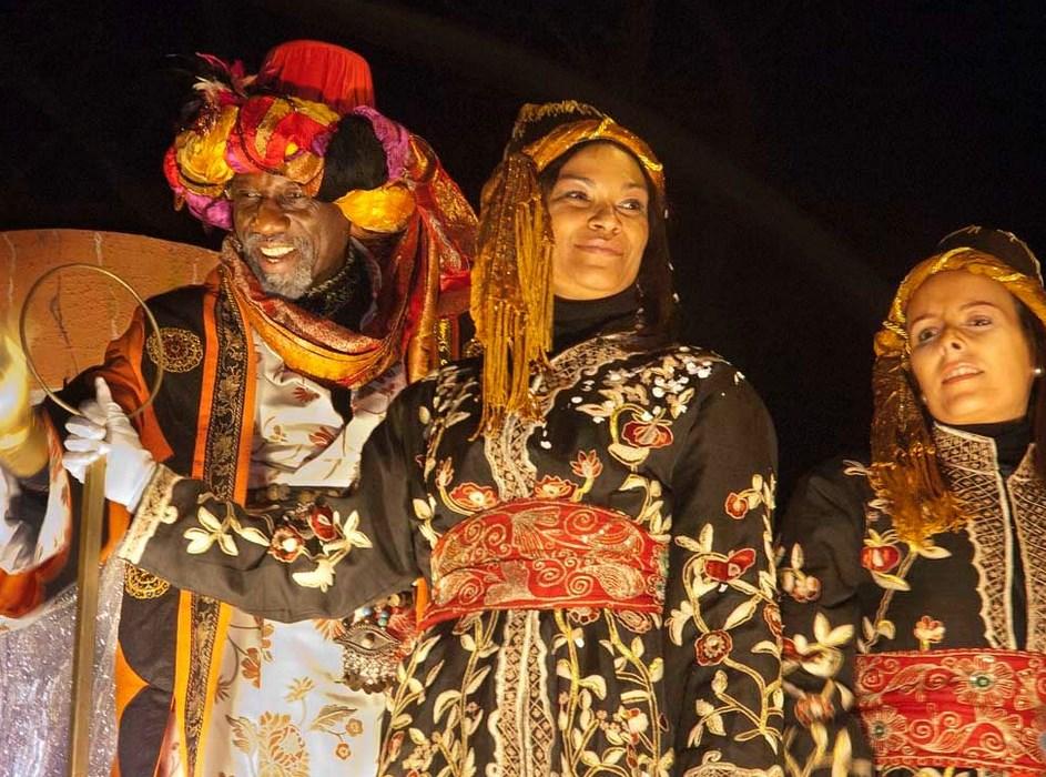 Los Reyes Magos en Gasteiz. Foto: vitoria-gasteiz.org