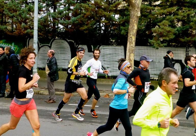 Media Maratón de Vitoria. Foto: Victor Uriarte