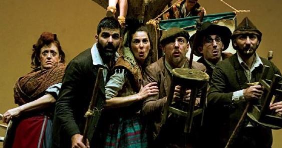 Obra 'Entremeses' de la compañía Teatro de la Abadia.