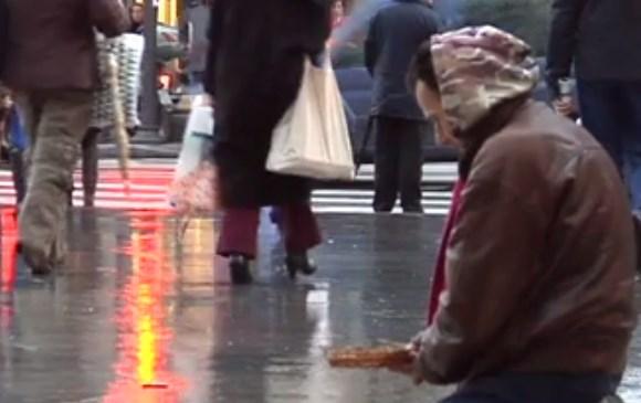 Un mendigo. Imagen de archivo: EiTB