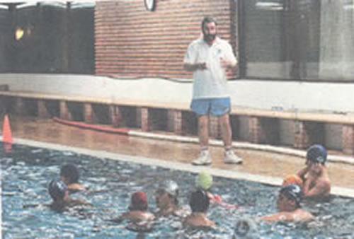 Javi Vidal lleva entreno