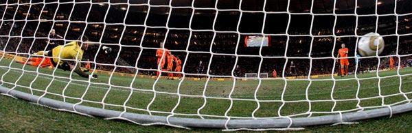 Gol de Iniesta en la final del Mundial de Sudafrica 2010