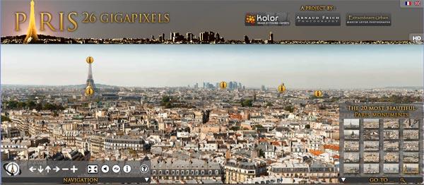París a 26 Gigapíxeles