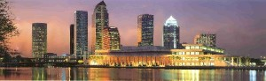 Tampa_night_skyline. Tampa Governement