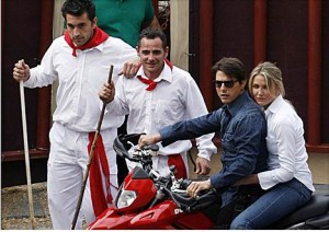 Rodaje 'Knight and day'