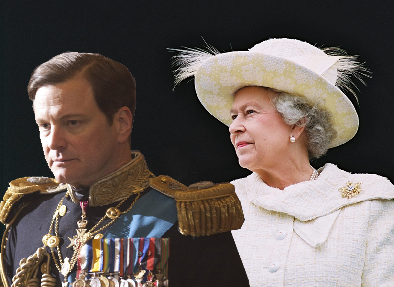 Colin Firth & Isabel II