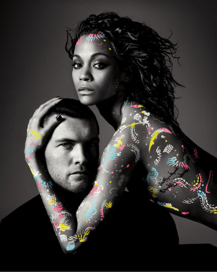Sam Worthington & Zöe Saldana