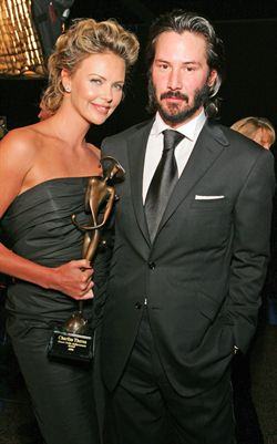 Charlize Theron & Keanu Reeves