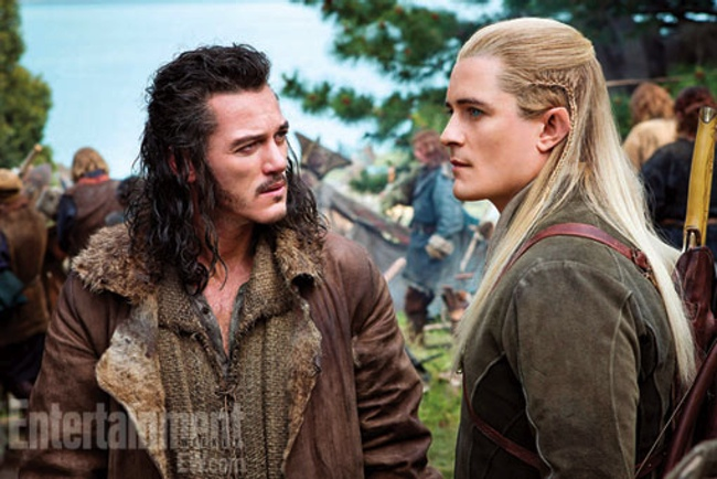 Luke Evans & Orlando Bloom
