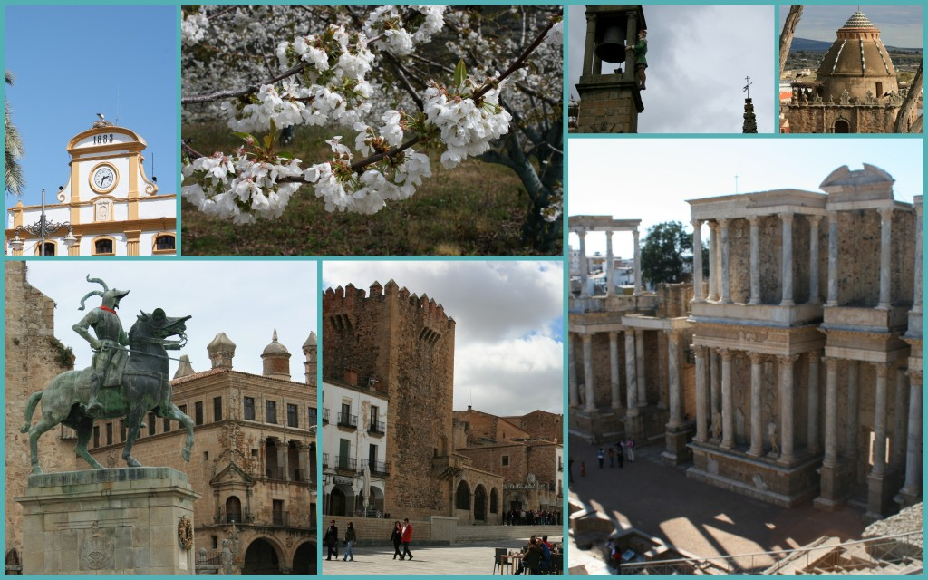 Collage extremadura