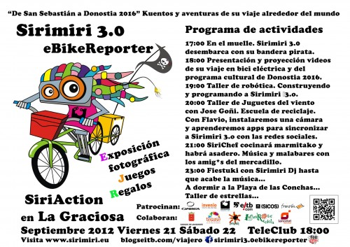 Cartel SiriAction La Graciosa_web